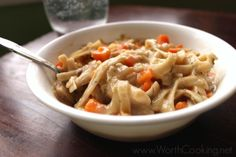 Chicken Noodle Stew