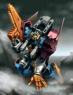 Transformers Beast Wars Optimal Optimus.    Transmetal 2.