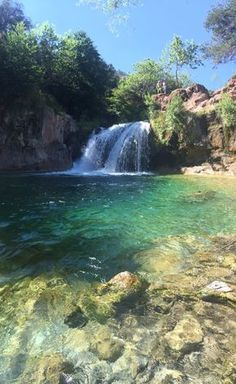 Fossil Creek hike in Strawberry, Arizona. Bonus - it's also a swimming hole, and you can cliff jump!