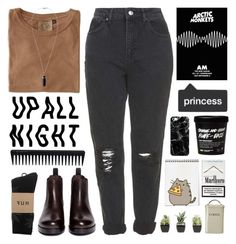 """""""#380 egress"""" by mia5056 ❤ liked on Polyvore featuring Jungmaven, Sam Edelman, Topshop, HUF, GHD, Casetify, Sharpie and Garden Trading"""