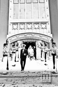 Wedding  | VMI Chapel | Bride and Groom | Monica Wilson Photography | www.monicawilsonphotography.com