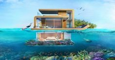 Now You Can Really Be James Bond, With These Amazing Floating Houses!