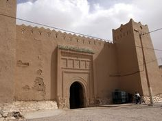 Ksar Maadid. Erfoud is also a town of ksars, a traditional complex of houses.
