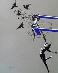 Bicycle Art via