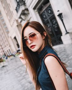 Chic Outfits, Spring Outfits, Mood And Tone, Ulzzang Girl, Actors, Long Hair Styles, Photoshoot Ideas, Celebrities, Sexy