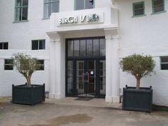 Entrance of Burgh Island Hotel.