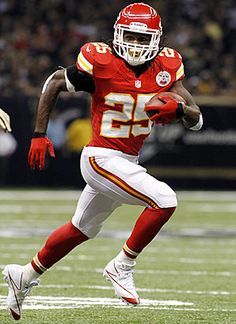 Kansas City Chiefs running back Jamaal Charles rushes in the first half of an NFL football game against the New Orleans Saints in New Orleans, Sunday, Sept. The Chiefs won in overtime. Football Today, Fantasy Football League, Football Awards, Kansas City Chiefs Football, Nfl Football Teams, Football And Basketball, Kansas City Royals, Sports Teams, Jamaal Charles