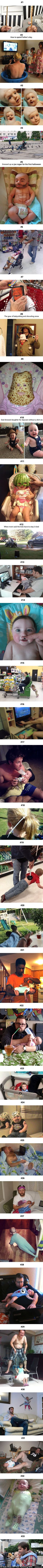 33 Dads Show Off Their Parenting Skills. http://ibeebz.com