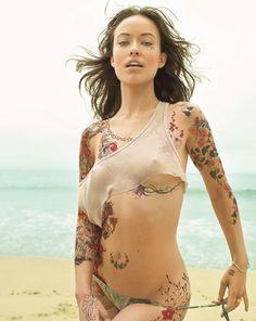 Flat boobs british nude