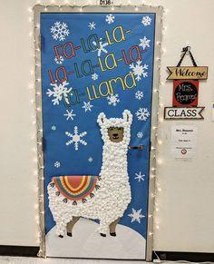 Untitled Christmas Door Decorating Contest, School Door Decorations, Office Christmas Decorations, Christmas Tree Game, Christmas Classroom Door, Christmas Crafts, Classroom Decor, Teacher Doors, Daycare Crafts