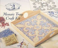 Mosaic Craft Tray Kit