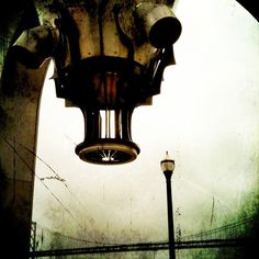 gothic raygun rocketship San Francisco  by my husband Gary Arnold.  check out more of his cool phone camera imagery:)