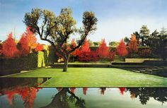 Caruncho Garden & Architecture - Silva Private Garden on the outskirts of Madrid, Spain 1997
