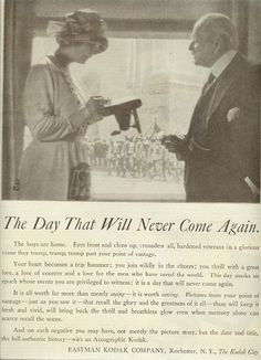 June 7th, 1919, Saturday Evening Post. That Day That Will Never Come Again.