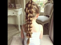 The 3D Pull Through Braid by SweetHearts Hair Design - YouTube