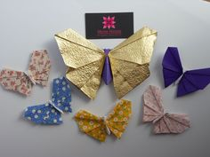 Butterfly Origami <3 <3 <3  http://www.meirehirata.com/