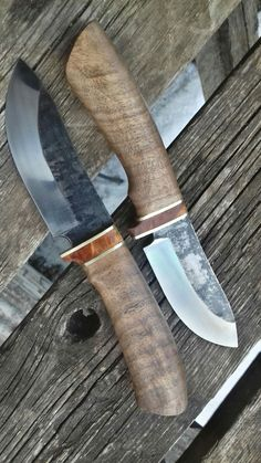 Forging Knives, Blacksmithing Knives, Knife Patterns, D2 Steel, Damascus Knife, Handmade Knives, Cold Steel, High Carbon Steel, Knives And Swords