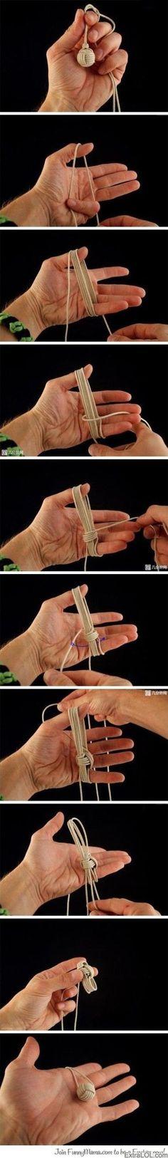 DIY Chinese Knot Ball....