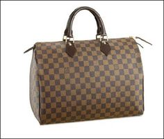 Louis Vuitton Speedy 30 in Damier Ebene. This was my first Louis Vuitton purchase and it is still my favorite! Louis Vuitton Speedy 35, Louis Vuitton Handbags, Vuitton Bag, Lv Handbags, Large Handbags, Handbags Online, Vuitton Neverfull, Balenciaga, Shoes