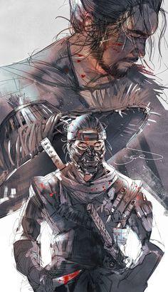 Samurai Wallpaper, Samurai Artwork, Ghost Of Tsushima, Fantasy Characters, Fictional Characters, Master Chief, Fantasy Art, Art Photography, Video Games
