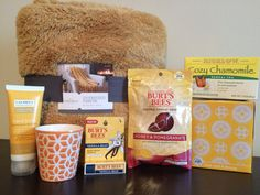 Get Well Soon Box of Sunshine - A wonderful care package for anyone feeling under the weather.