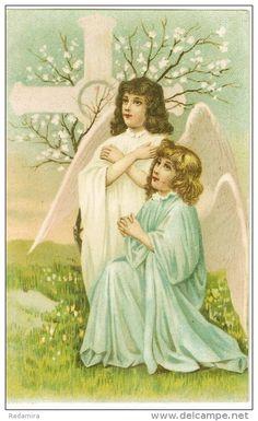 """Alte Ansichtskarten """"ANGELS"""" 1909 Deutschland."""