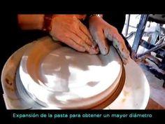 Seis formas básicas en Torno Alfarero