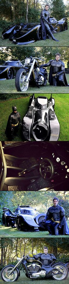 After a life-long love of Batman, 29-year-old Sydney man Zac Mihajlovic spent two years building a Batmobile in his backyard. The superhero enthusiast made a 6.2 metre Batmobile modelled in accurate detail on the one used by Batman in the 1989 movie - the only one in the world with full street registration. With a passion for the winged comic character, in 2009 Mr Mihajlovic bought a few spare parts from the actual Batmobile used in the movie and put them away.