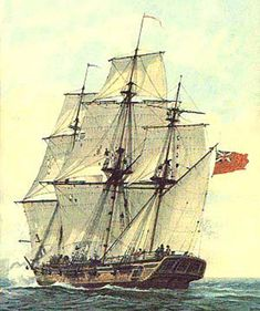 British Sloop of War- our hero served on one of these                                                                                                                                                                                 More