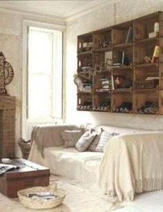 cool ideas for shelves