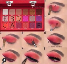 Jeffree Star Eyeshadow, Jeffree Star Palette, Eyeshadow Looks, Eyeshadow Makeup, Eyeshadow Palette, Lip Gloss, Makeup Inspo, Makeup Tips, Makeup Tutorials