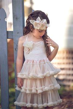 Vintage flower girl dress: Dollcake Clothing - Prairie Dust Dress