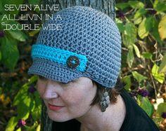 FREE Crochet Brimmed Hat Pattern!