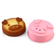 Pig Shaped Silicone Mold: Amazon.com: Kitchen & Dining