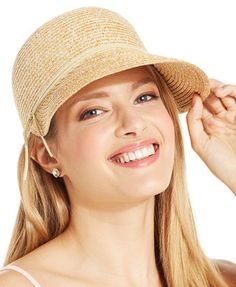 acc18781b0b August Hats Mellow Mottle Framer Hat Handbags   Accessories - Macy s