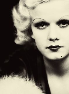 Jean Harlow, 1930s.   beautiful photographs, historical and artistic
