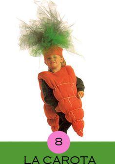 The Easiest (and Cutest!) Last-Minute Kid's Halloween Costumes Me encanta el disfraz de zanahoria Diy Halloween Costumes For Kids, Cute Costumes, Creative Halloween Costumes, Baby Costumes, Pirate Costumes, Halloween Halloween, Costume Ideas, Children Costumes, Vintage Halloween