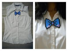 8bit bow tie. Battling the sexes? I think it suits the girls B)