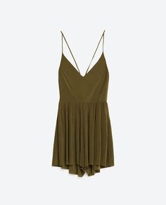 Image 8 of SHORT JUMPSUIT from Zara