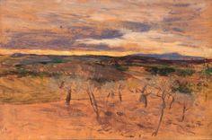 "Giovanni Boldini (Italian, 1842-1931) ""Campagna al tramonto"" Giovanni Boldini, Illustration, Portrait, Painting, Art, Italian Painters, Art Background, Headshot Photography, Painting Art"
