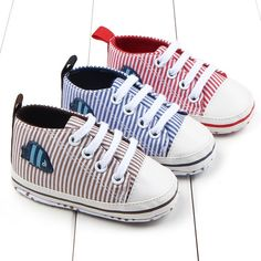 Spring Unisex Boy Girl Casual Baby Toddler Soft Sole Crib Shoes Lace Prewalker Sneakers 0-12M K08