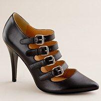 LOVE! #wedding #black #shoes