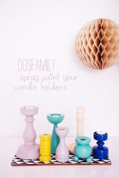 #DIY #Candle Holders from Dos Family