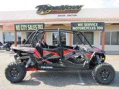 New 2017 Polaris RZR XP 4 1000 EPS Titanium Metallic ATVs For Sale in Arizona. 2017 Polaris RZR XP 4 1000 EPS Titanium Metallic, 2017 Polaris® RZR XP® 4 1000 EPS Titanium Metallic <p>Share Xtreme Performance with friends and family.</p><p> Features may include: </p> SUSPENSION FEATURES <ul><li>RACE-INSPIRED SUSPENSION FOR AN ULTRA-SMOOTH RIDE</li></ul><p>The race-inspired 3-link trailing arm rear suspension serves up an incredible 18-inches of rear wheel travel. Matched to an astounding…