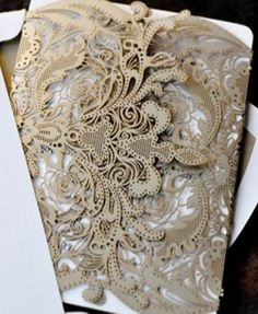 amazing pic about lace laser cut wedding invitations uploaded by admin for wedding invitations categories Laser Cut Invitation, Laser Cut Wedding Invitations, Wedding Invitation Wording, Wedding Stationery, Invitation Ideas, Wedding Calligraphy, Wedding Paper, Wedding Cards, Our Wedding