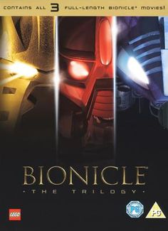 Cool artwork for the Bionicle movie trilogy.
