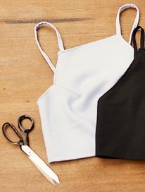 DIY halter crop top tutorial (video)
