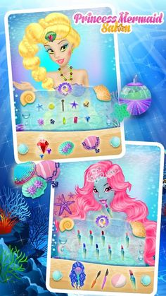 Mermaid Princess Salon – Capture d'écran