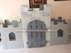 castle for birthday party