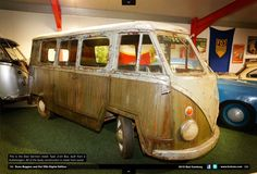 wooden east german vw bus ☮ pinned by http://www.wfpblogs.com/author/southfloridah2o/